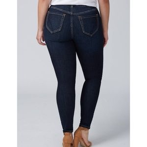 Lane Bryant T3 tighter tummy technology jeans
